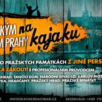 Explore Historical Prague on a Kayak
